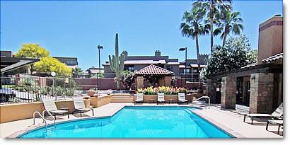 skyline villas pool