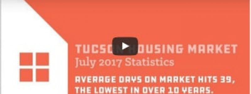 Tucson Housing Market Update July 2017